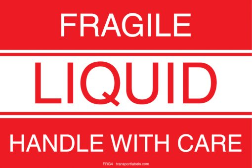 Fragile Liquid Labels