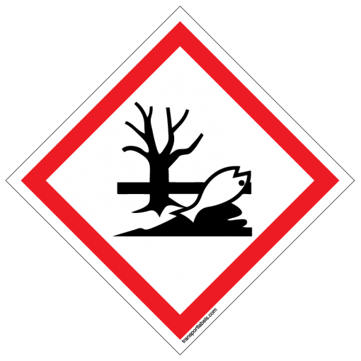GHS Environmental Toxicity Labels