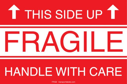 This Side Up Fragile Labels