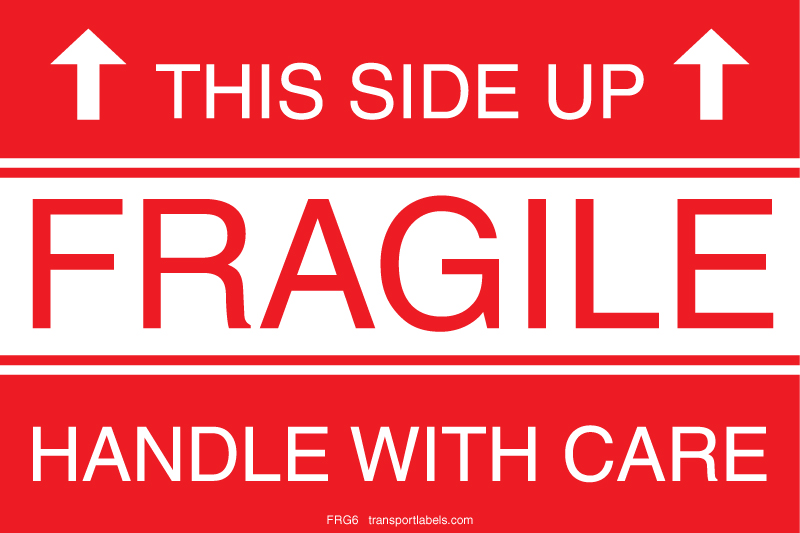 this side up fragile labels | transportlabels